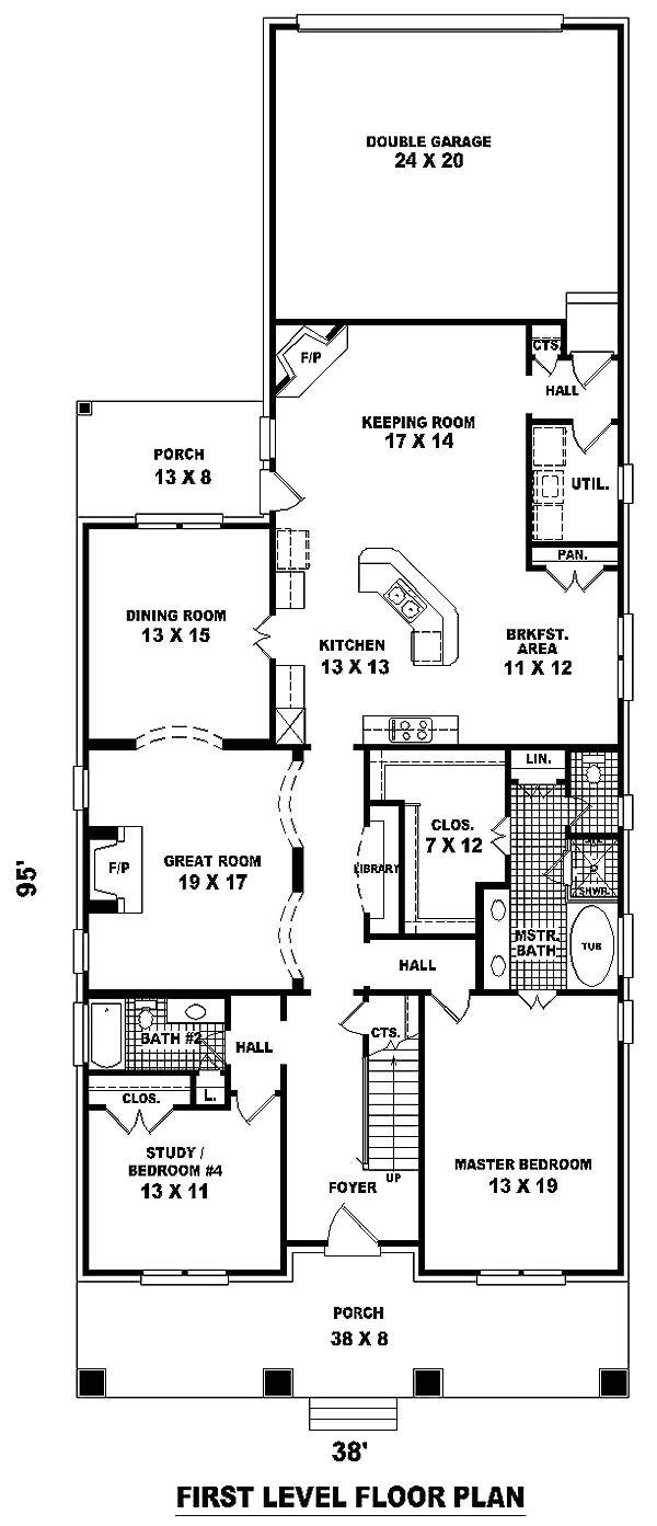 narrow lot house plans