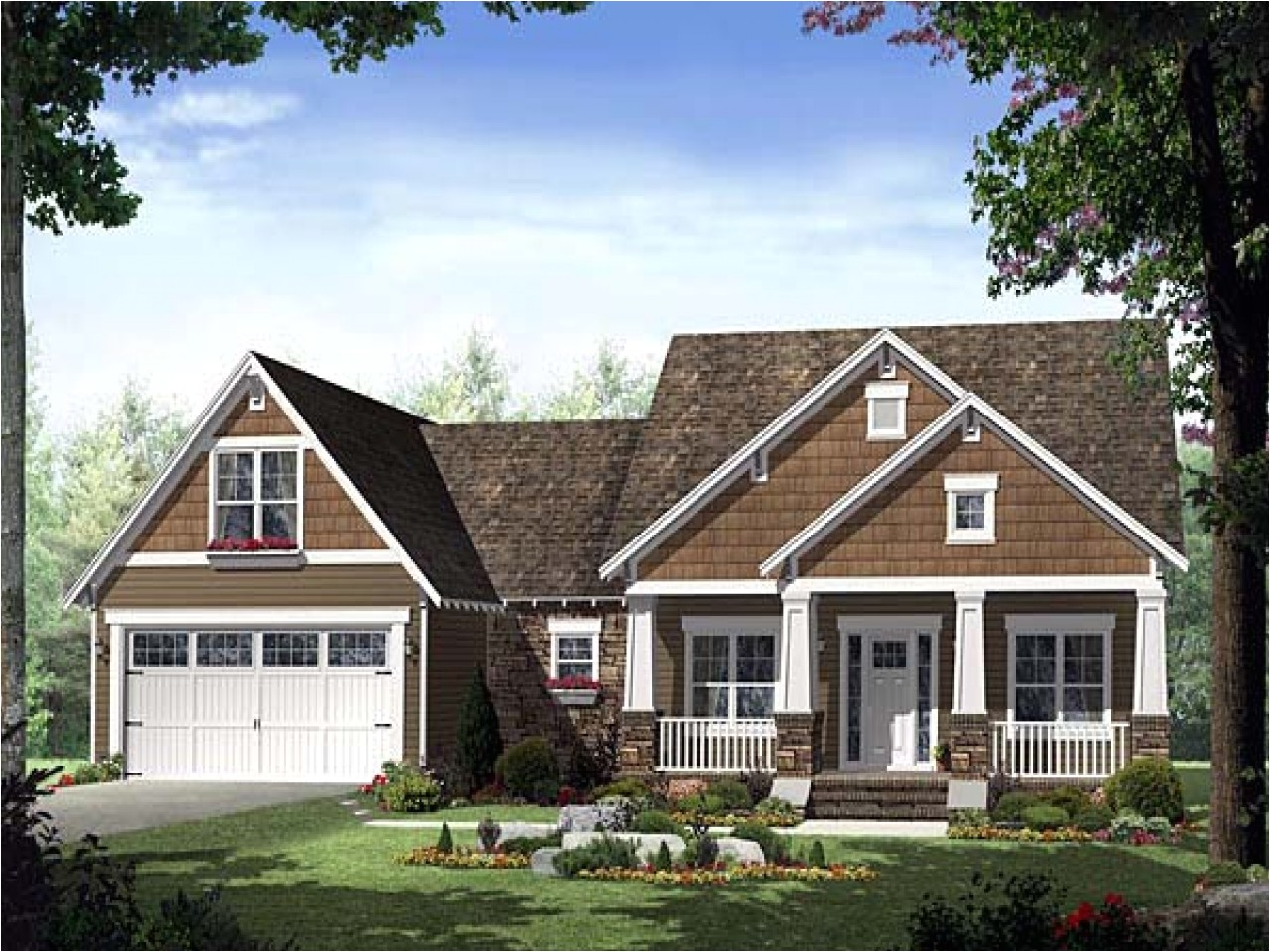 325f73aed23eb144 single story craftsman house plans home style craftsman house plans