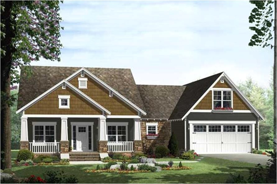 craftsman house plans 2000 sq ft