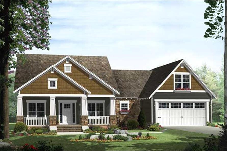 craftsman house plans 2000 sq ft
