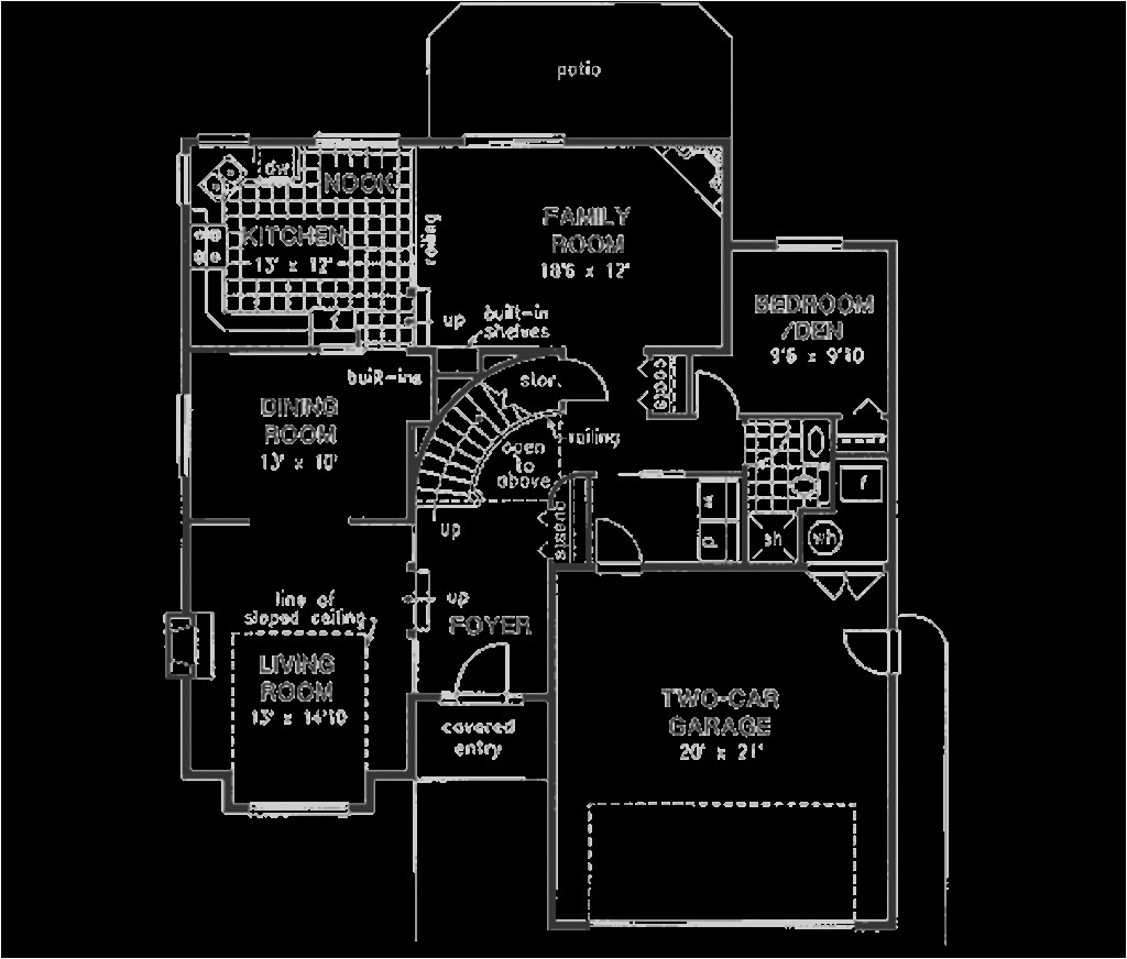 2000 square feet 4 bedrooms 3 bathroom northwest house plans 2 garage 5044