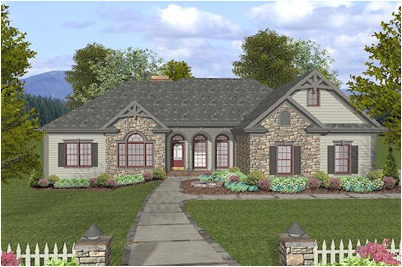 2000 square feet 4 bedrooms 3 5 bathroom craftsman home plans 3 garage 32007