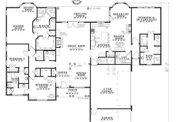 craftsman house plans with mother in law suite awesome why mother in law suites houseplans