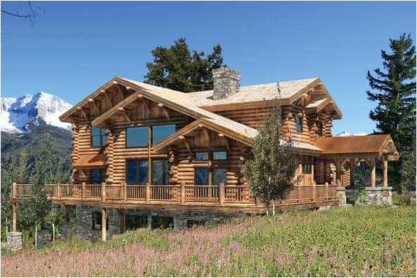 craftsman style log home plans