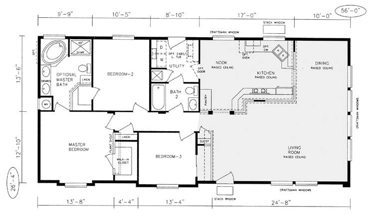 design manufactured home floor plans
