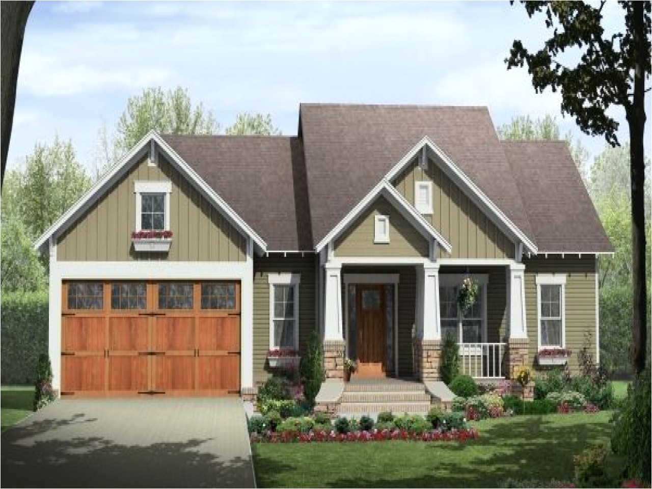 vintage craftsman style house plans
