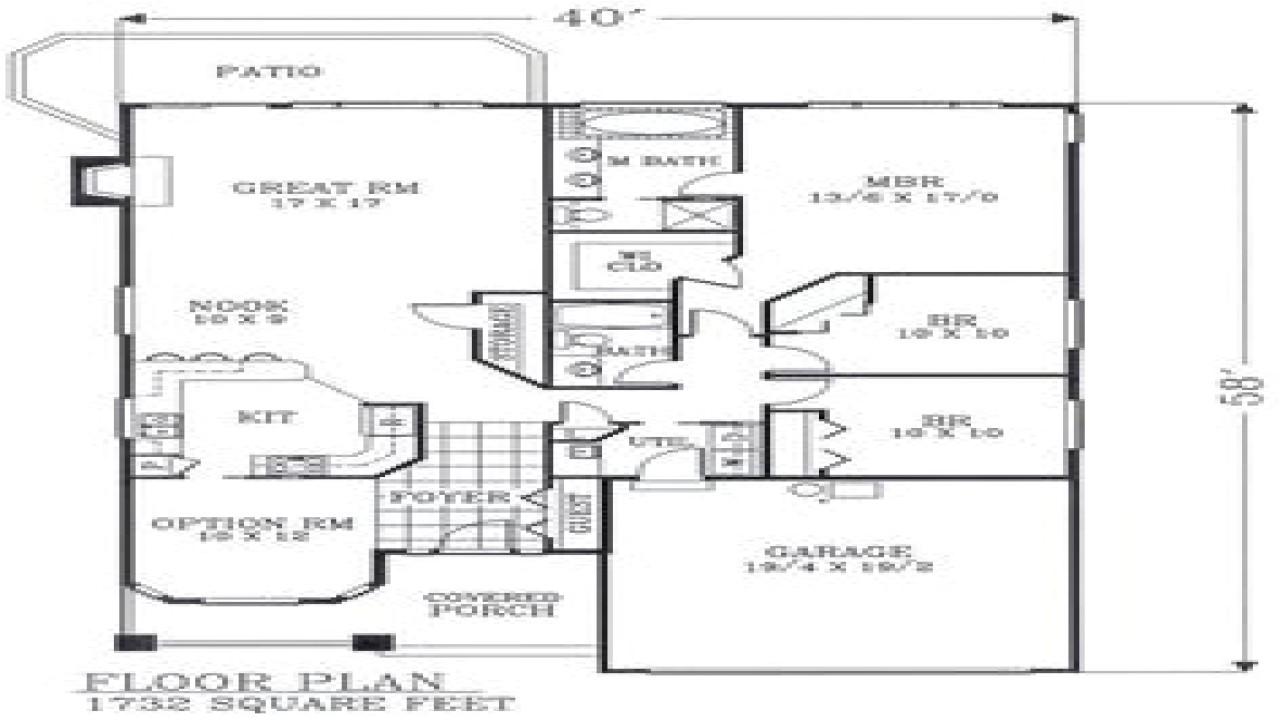 c63714615ad3f2bd craftsman open floor plans craftsman bungalow floor plans narrow