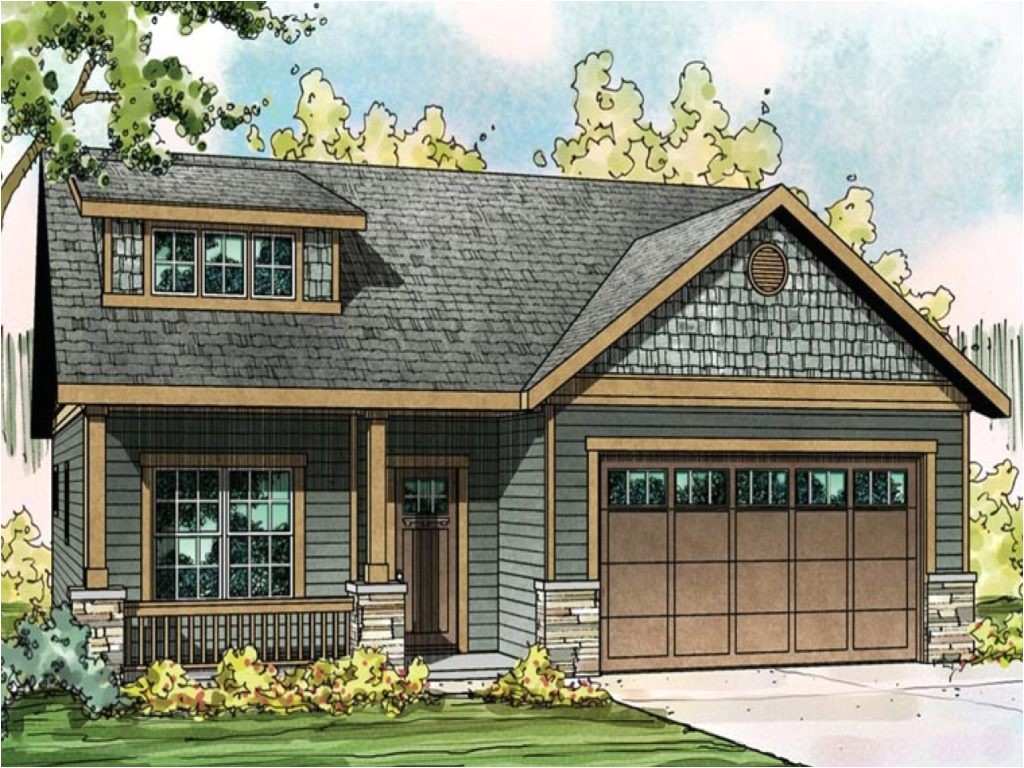 small craftsman style home plans