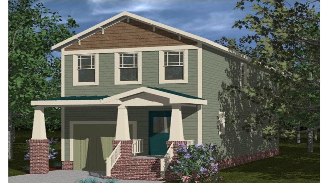865757c21ee497f1 craftsman style interiors craftsman style narrow lot house plans