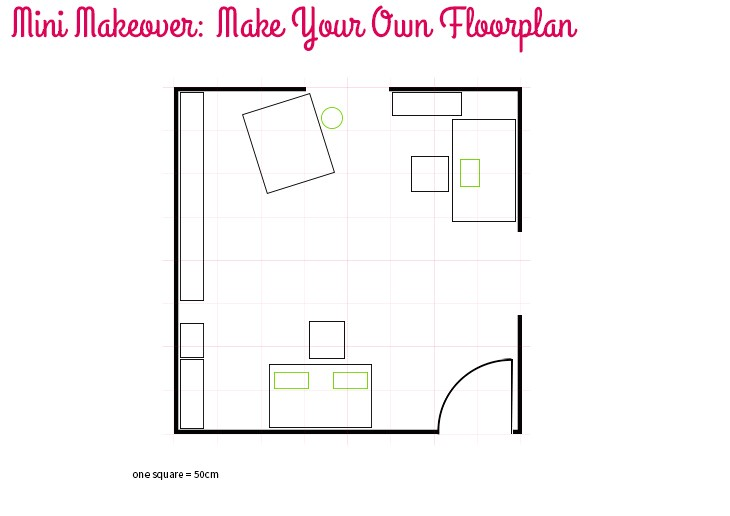 mini makeover make your own floorplan