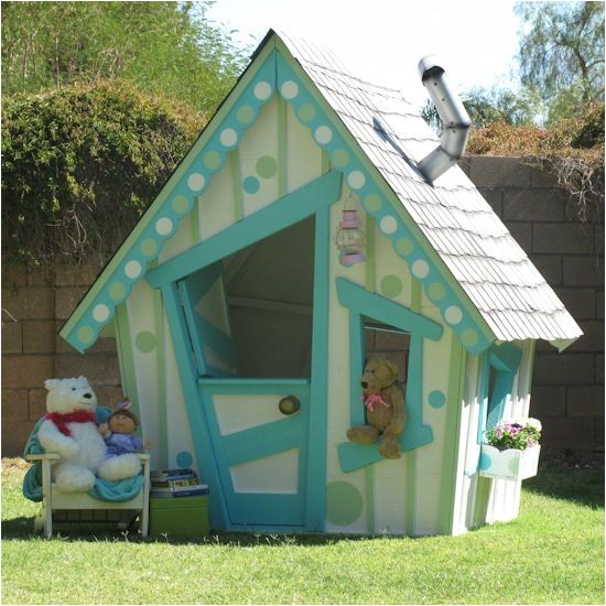 how to build a crooked playhouse plans