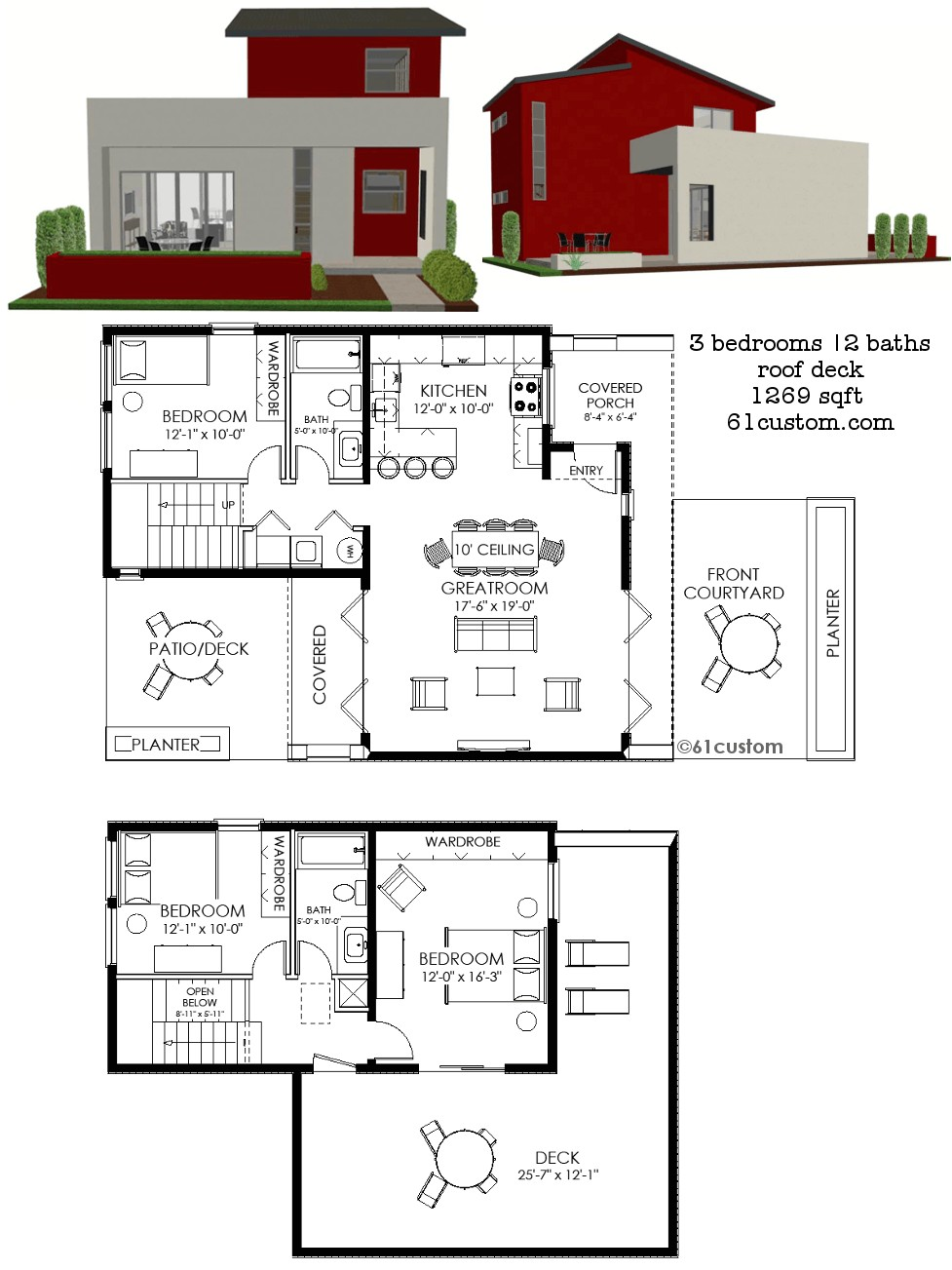 Custom Modern Home Plans Modern House Plans Floor Plans Contemporary Home Plans