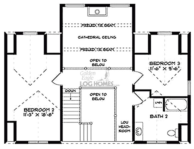 18 stunning custom mountain home floor plans