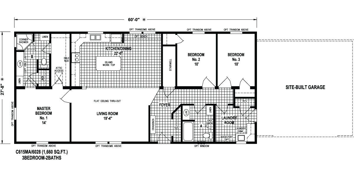Deer Valley Mobile Home Floor Plans Modular Homes Willow
