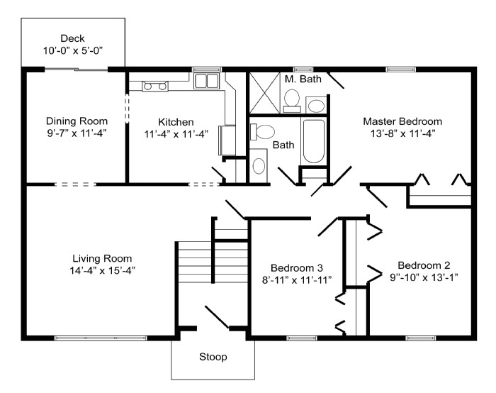 high quality basic home plans 8 bi level home floor plans