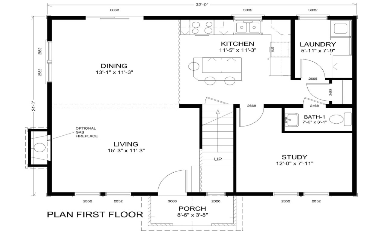 traditional colonial home floor plans