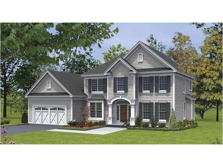 Design Traditions Home Plans Traditional House Plans Two Story Cottage House Plans