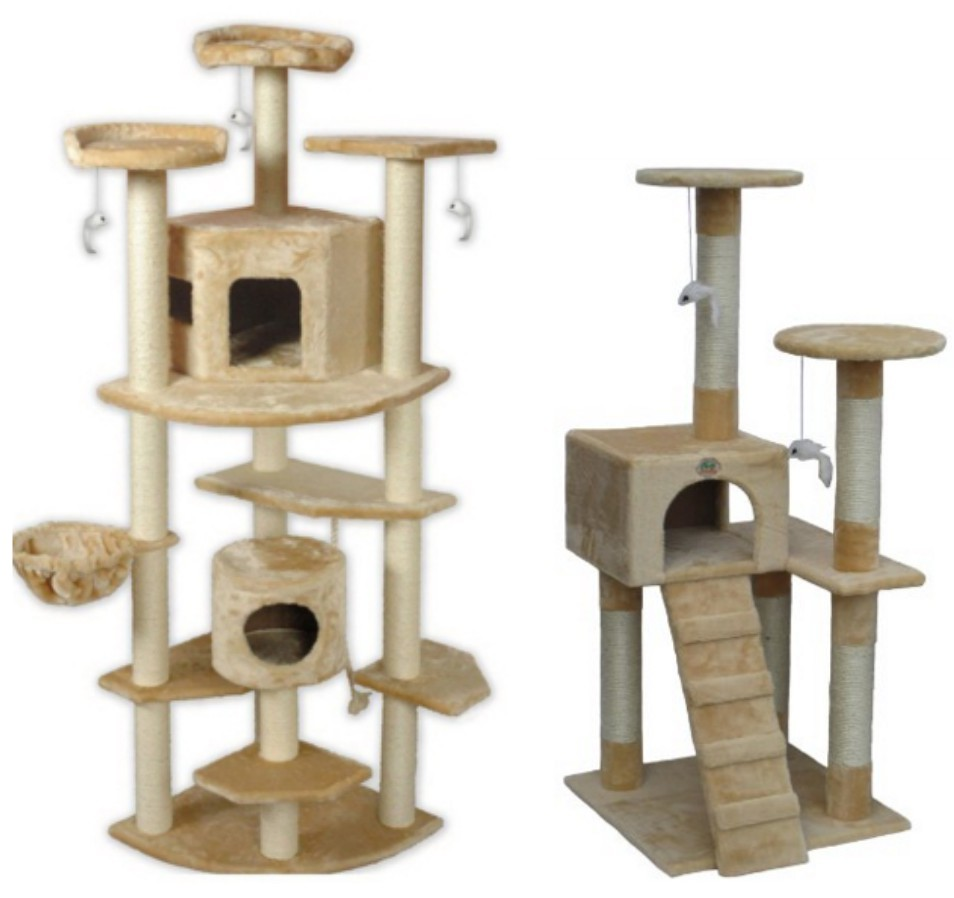 amazon 52 cat tree 48 shipped reg 159 and 80 cat tree 89 97 shipped reg 299