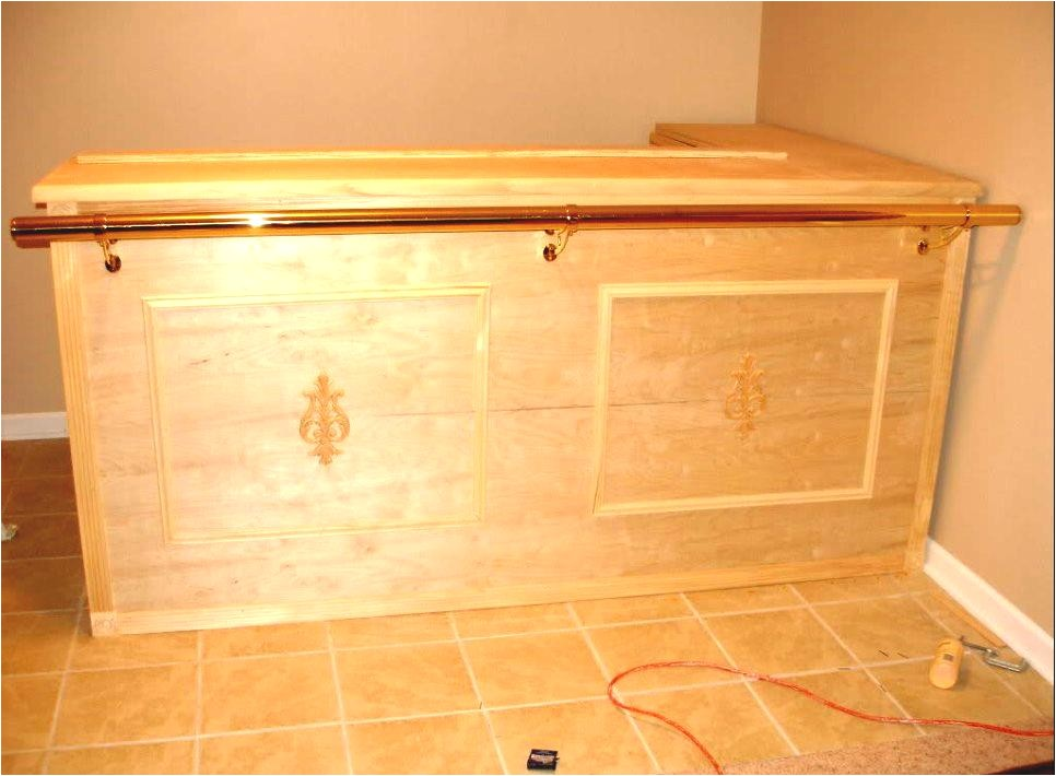 how to build basement bar plans diy