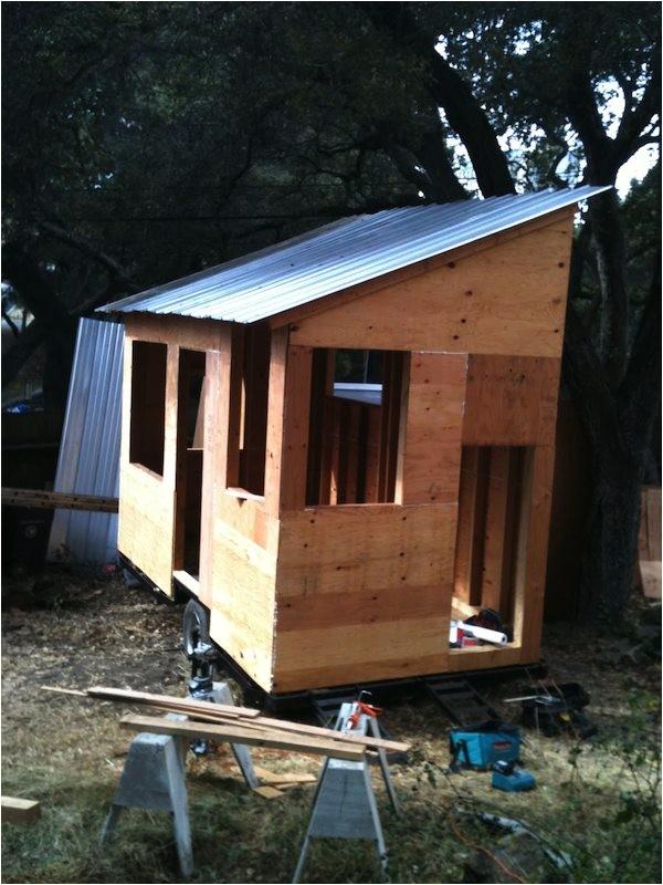 diy tiny house on a trailer for 5500