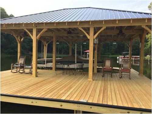boat house dock plans