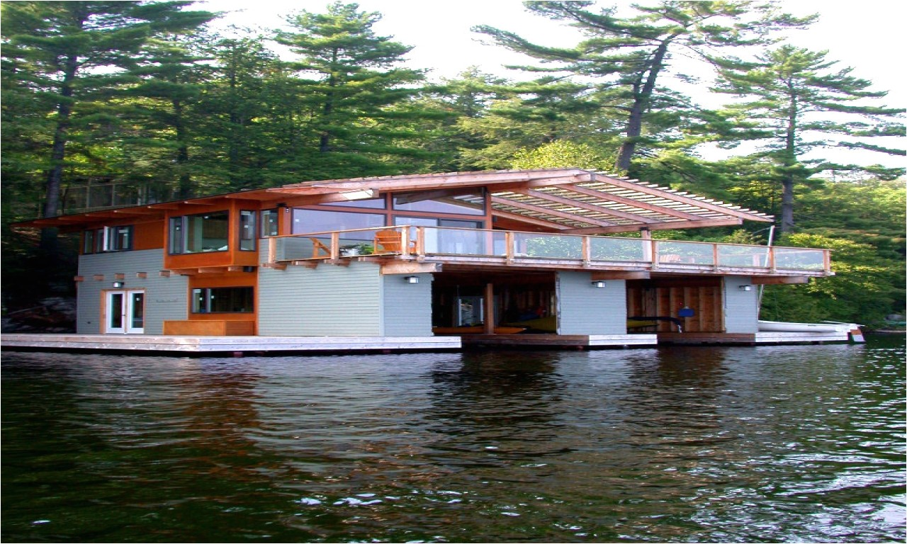 the dock house