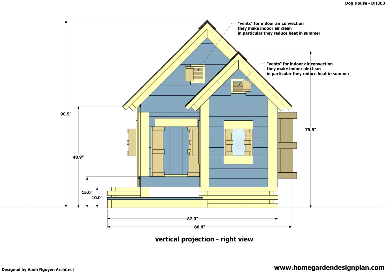 dog house dh300 perfect plans for 25