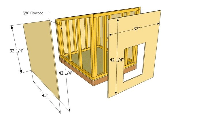 Dog House Construction Plans Simple Diy Dog House Plans Dog House Plans Favorite