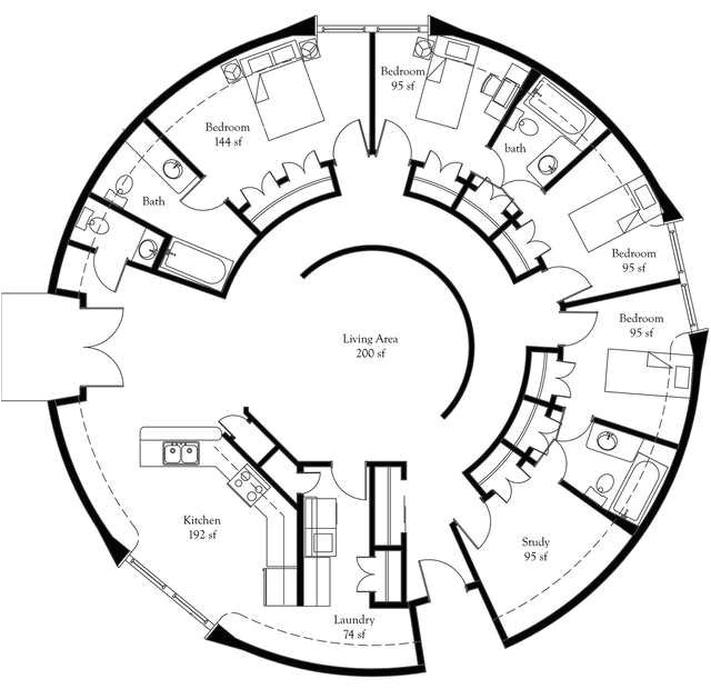 Dome Home Plans With Basements: Dome Home Plans Free