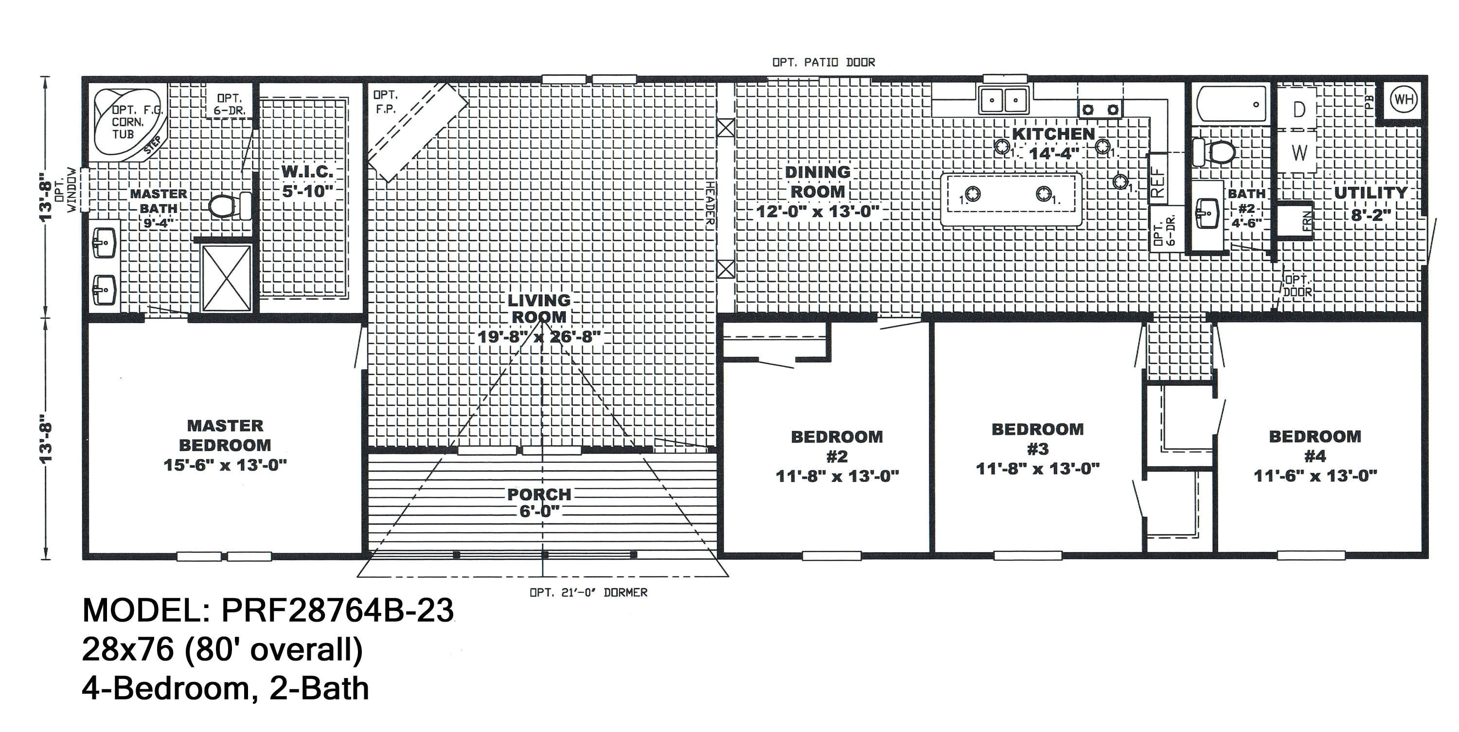 4 bedroom double wide mobile home floor plans fresh mobile homes one bedroom 4 modular floor plans single wide home