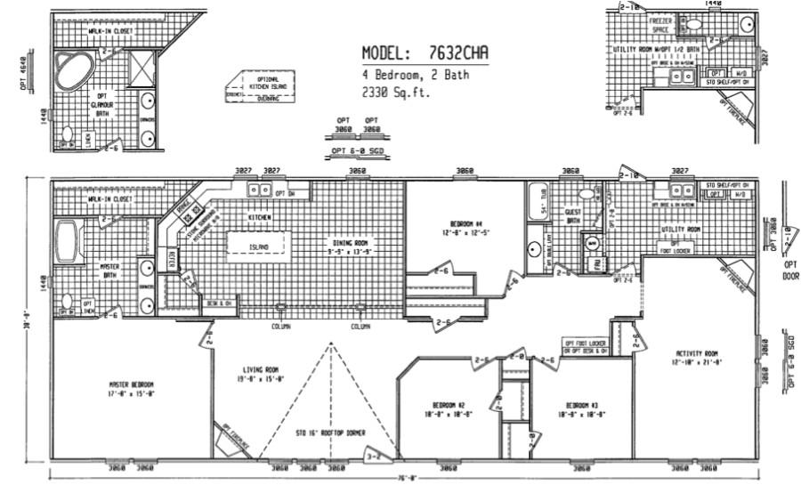 Double Wide Home Floor Plan Double Wide Floor Plans Houses Flooring Picture Ideas