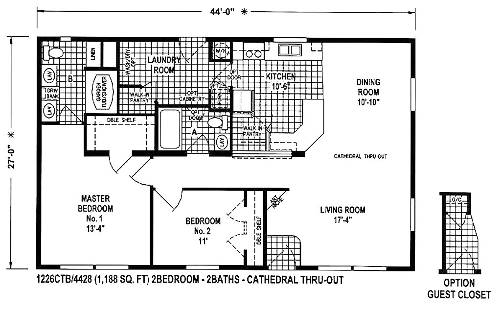 clayton double wide homes floor plans