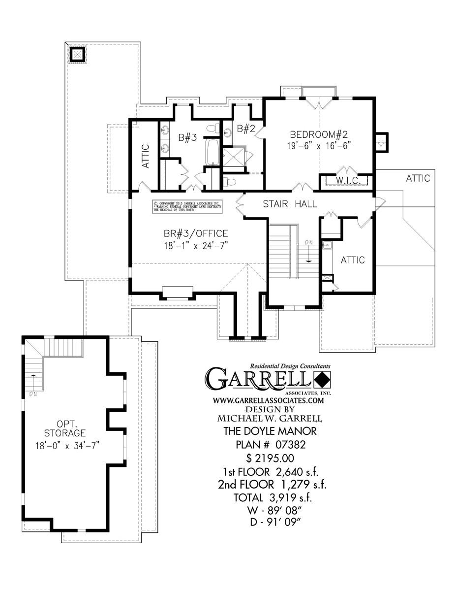 doyle manor house plan