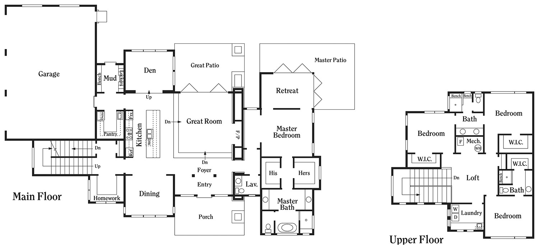 dr horton emerald homes floor plans
