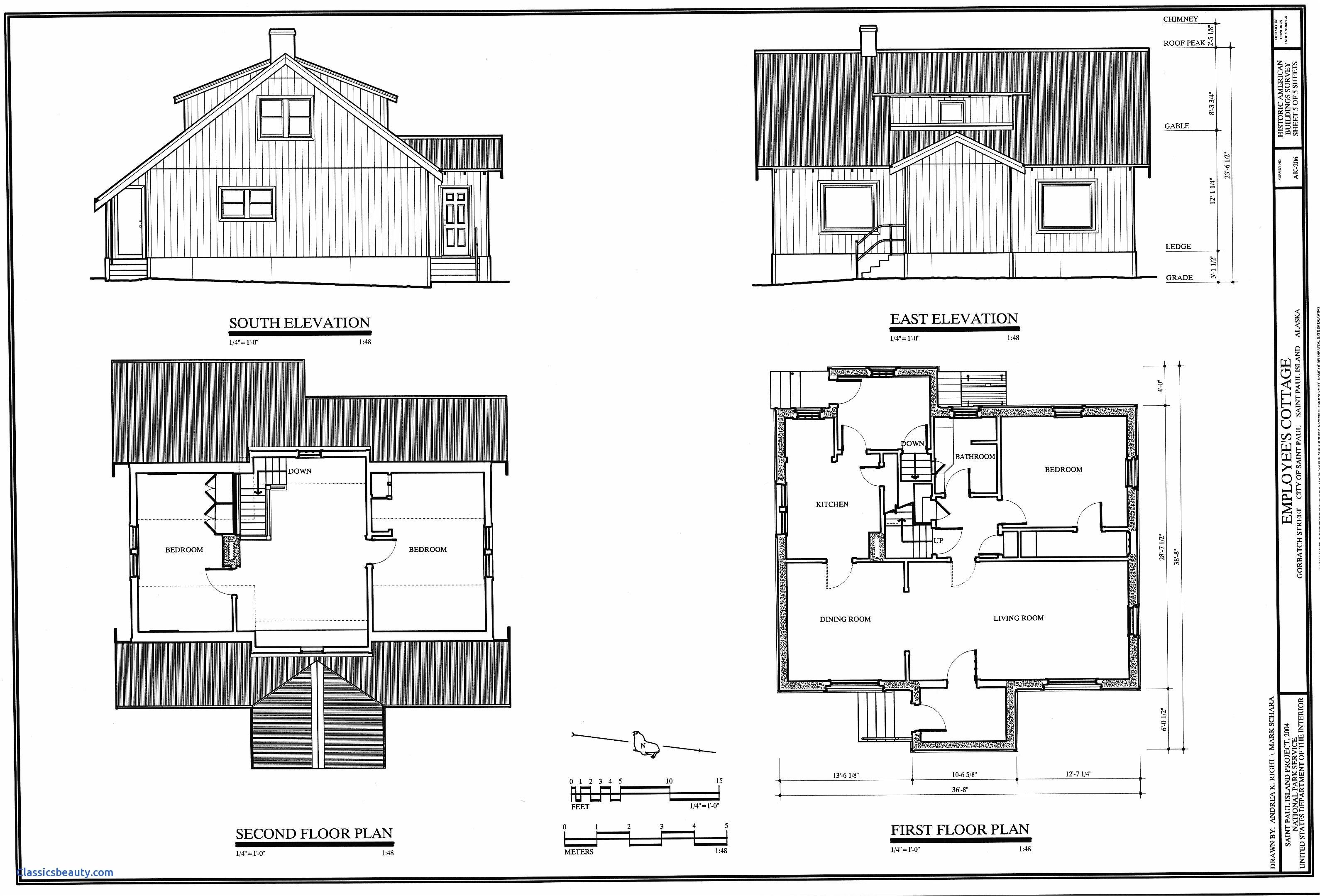 draw a house plan