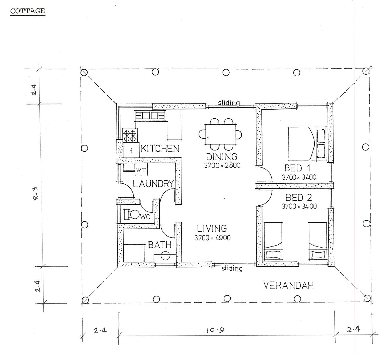 scale drawings house plans