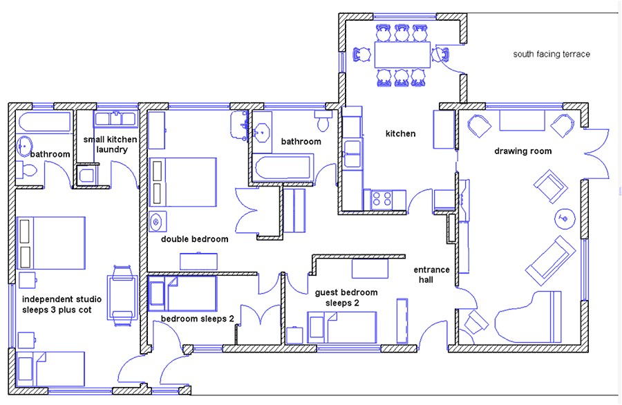 draw house plans