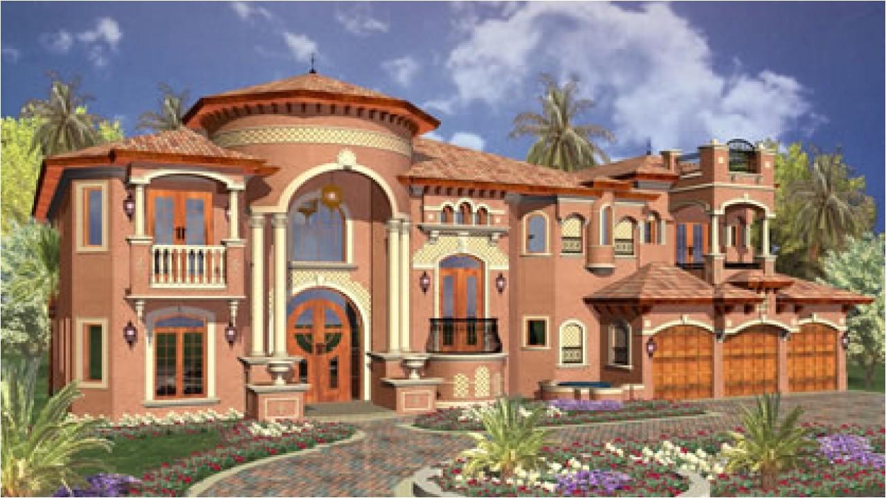 luxury dream homes plans