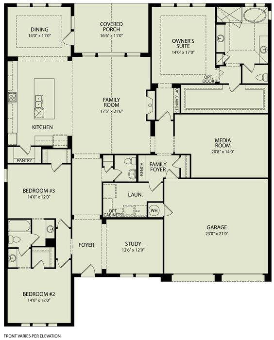 drees floor plans