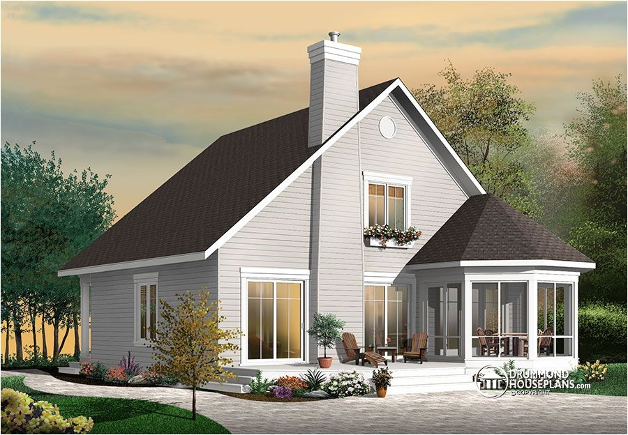 stunning frame 4 bedroom cottage house plan