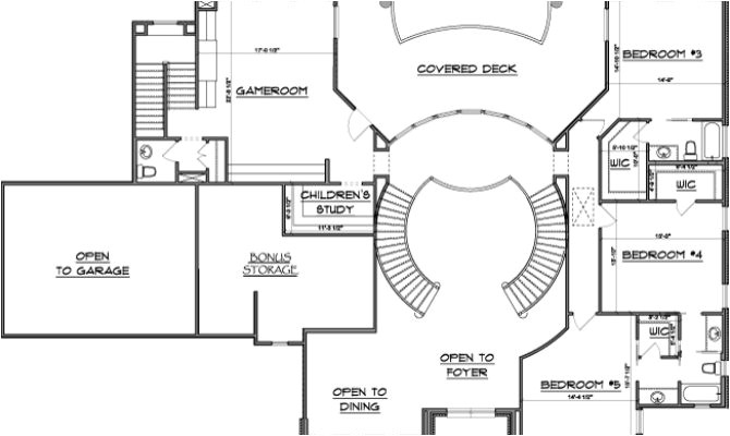 15 best dual staircase house plans