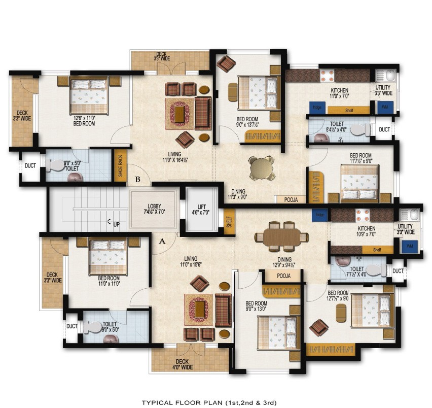 duggar family house floor plan