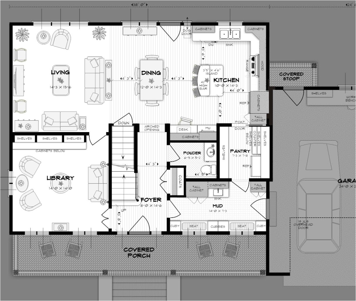 duggar house floor plan