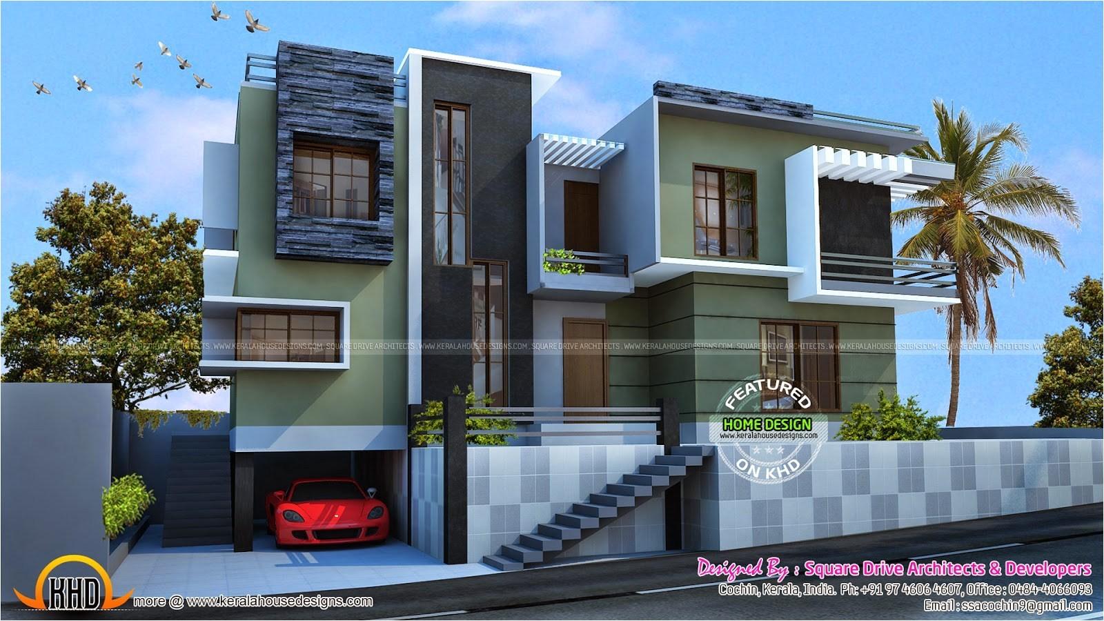 c3f953751f741e84 modern duplex house plans designs