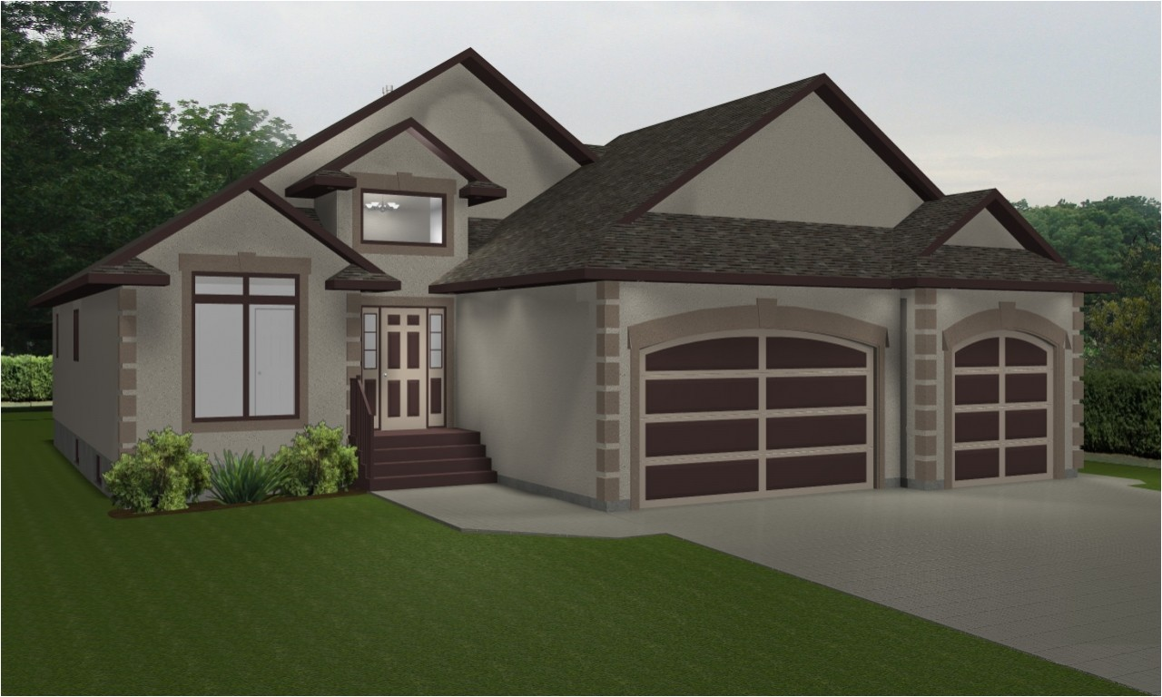 Duplex Home Plans with Garage House Plans with 3 Car Garage Duplex House Plans Bungalow