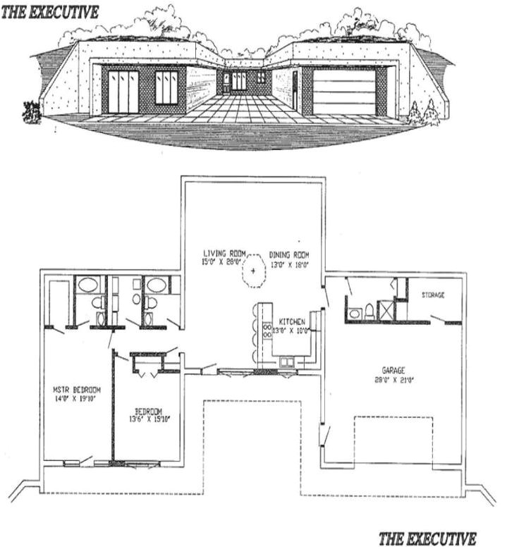 Earth Berm Home Plans 1000 Ideas About Underground House Plans On Pinterest