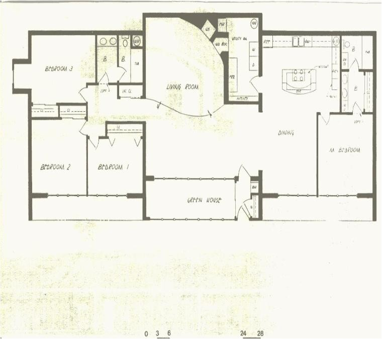 earth berm house plans