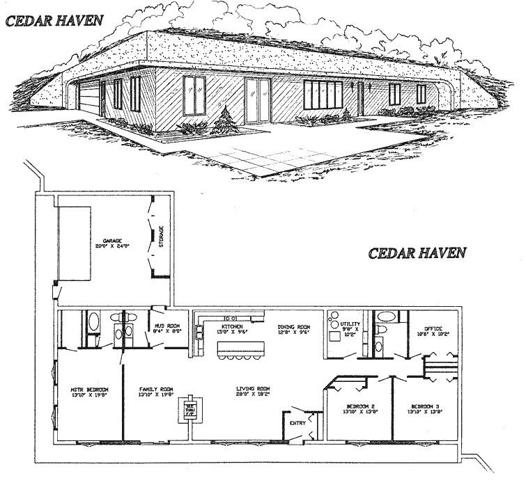 Earth Berm Home Plans Small Earth Berm Home Plans Joy Studio Design Gallery