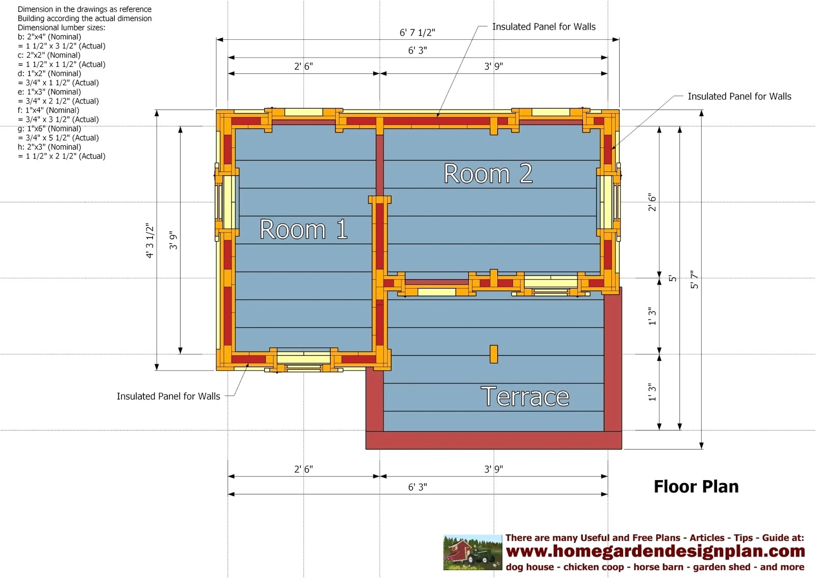 Easy Home Plans to Build Insulated Dog House Plans for Large Dogs Free