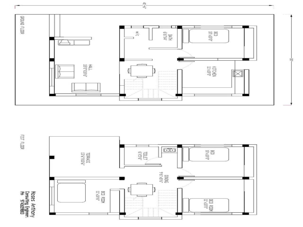 drawing simple house plans